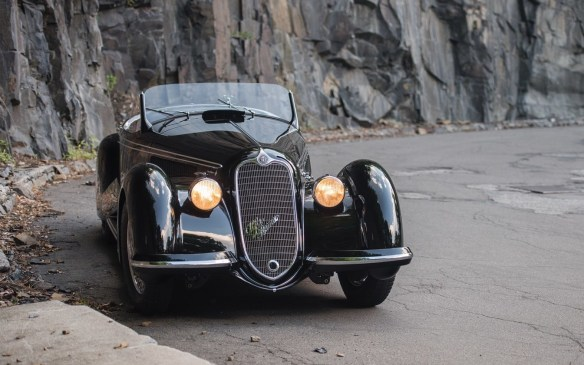 <p>Across the peninsula, at the RM Sotheby's auction in Monterey, this 1939 Alfa Romeo 8C 2900B Lungo Spider fetched $19,800,000 (USD)! But even that wasn't the top seller.</p>