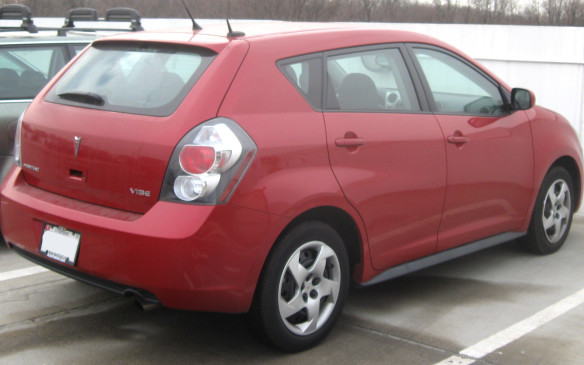 <p>The Vibe's tall stance and flat floor yielded good room inside, though the cargo hold was pretty meagre. Watch for oil burning inherent to both Toyota-sourced engines, as well as finicky issues with the car's electronic stability control and brake sensors.</p>