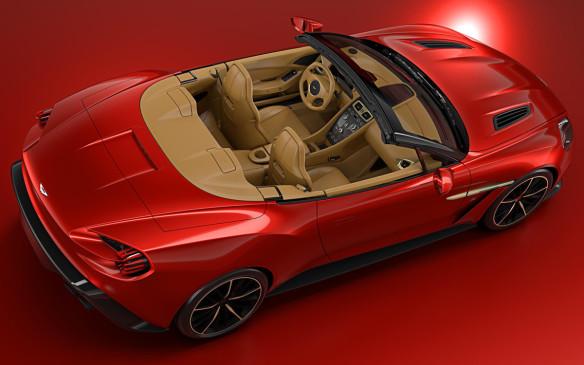 <p>Aston Martin Vanquish Zagato Volante</p>