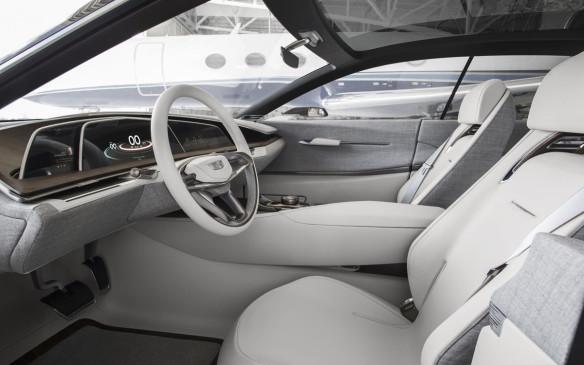 <p>Cadillac Escala Concept interior</p>