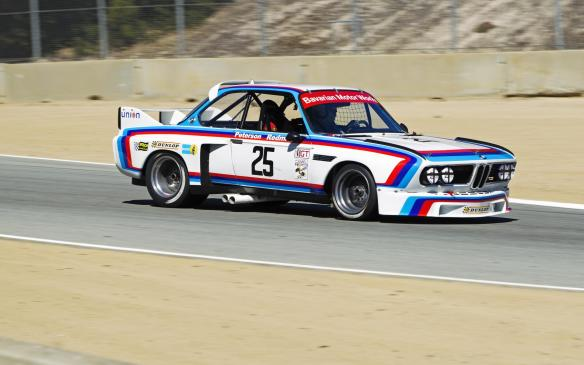 <p>Of more recent vintage is this 1975 BMW 3.0 CSL, which terrorized the competition in IMSA racing in the '70s. It's still one of the prettiest sedan racers ever.</p>