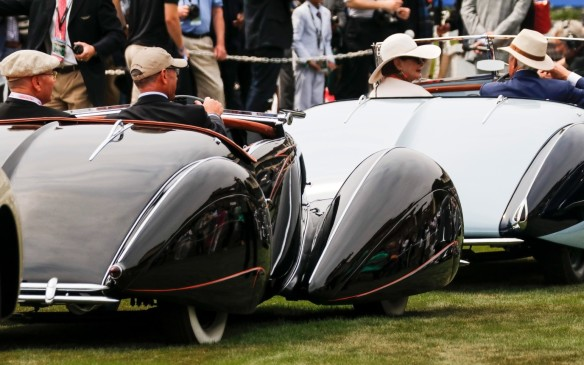 <p>The common theme throughout the Concours is Elegance. it's apparent in the cars...</p>