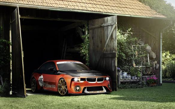 <p>Several automakers held separate private events for media and customers to introduce concepts or new models before showing them at the Concours or the Motorsports Reunion. BMW, for example, revealed this 2002 Hommage concept.</p>