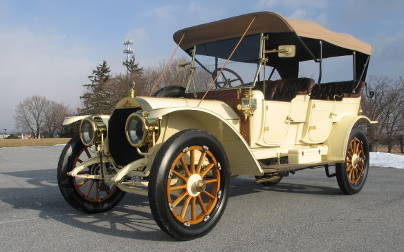 <p>What has now become a Cobble Beach tradition – The Museum Class, presented by Cadillac – is a display-only class featuring cars from Canadian and American automotive museums. This year it will include a 1924 Vauxhall, this 1911 Stevens-Duryea Model AA Tourer and four different Cadillacs.</p>
