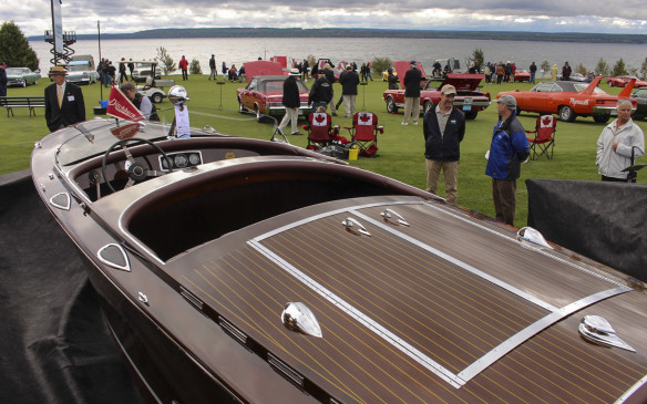 <p>The display of classic wooden boats introduced last year will be back again – a perfect adjunct to the cars on display given the show's shoreline setting.</p>
