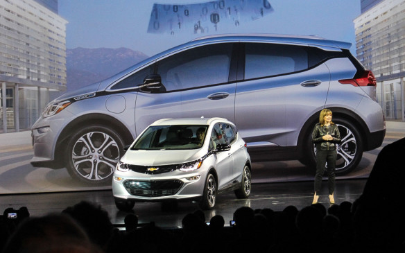 "<p>The fully-electric Chevrolet Bolt was unveiled in concept form at the 2015 Detroit Auto Show, and in production form at the 2016 CES, by General Motors CEO Mary Barra who vowed that a production version would soon be offered for ""around $30,000 (US)"" with more than 200 miles (320 km) of range.</p> <p>Both of these promises were more than kept as the Bolt EV is soon coming to Canada with a starting price of $42,795 that can be notably reduced by provincial incentives that can total more than $11,000 (in Ontario) and an EPA-certified range of 383 kilometres (or 238 miles) when fully recharged. I recently drove it, twice, on the roads of California and Michigan.</p>"