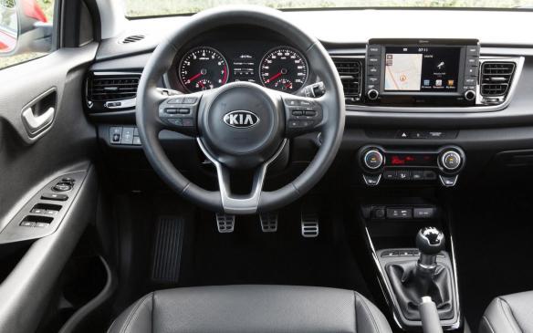 <p>2017 Kia Rio interior</p>