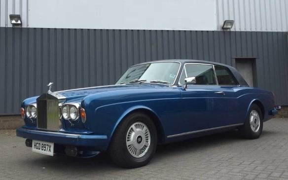 <p>1982 Rolls Royce Corniche FHC</p>