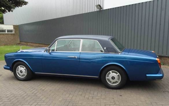 <p>1982 Rolls-Royce Corniche FHC</p>