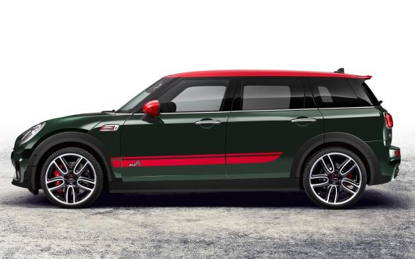 <p>2017 Mini John Cooper Works Clubman</p>