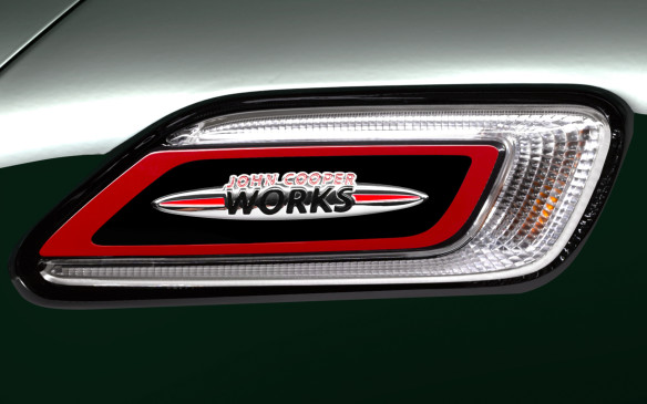 <p>2017 Mini John Cooper Works Clubman fender badge</p>