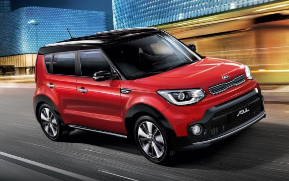 <p>2017 Kia Soul Turbo</p>