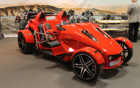 <p>This all-electric runabout made by Boom Trikes had a list price of 49,900 euros.</p>