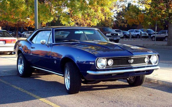 <p>1967 Chevrolet Camaro SS</p>
