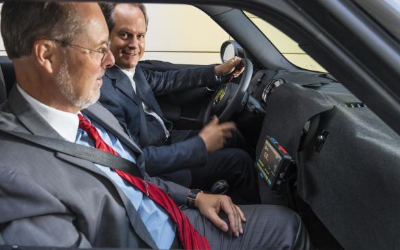 <p>Mini Plug-In Hybrid interior</p>