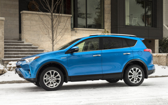 "<p>Toyota has unleashed its hybrid powertrain to the RAV4 and we will get to experience it at Car of the Year. The net power numbers get a boost from the regular RAV4 with 194 hp and 206 lb.-ft. of torque. But the real story comes down to its fuel economy with 6.9 L/100 km in the city and 7.8 L/100 km on the highway. Toyota is calling this RAV4 Hybrid, the ""most fuel-efficient SUV available in Canada.""</p>"