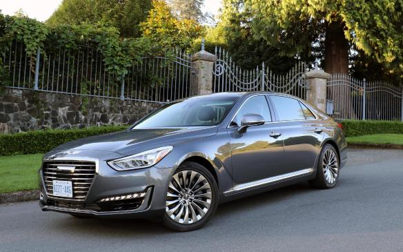 <p>The 2017 Genesis G90 is the first vehicle produced for the new Hyundai luxury brand. With the upscale marketing going towards the Genesis brand, the Equus seems to be left in the distant past. The G90 is offered with two engine choices: a new twin-turbo, 365-hp 3.3-litre V-6 and the more powerful 420-hp 5.0-litre V-8.   </p>
