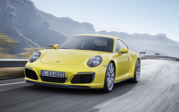 <p>This is the first year that Porsche has adopted turbocharging for its iconic 911 Carrera - not just the top-end Turbo model. The Carrera 4S uses a twin-turbocharged, 3.0-litre six-cylinder that ups its power ante with 420 hp and 368 lb.-ft. of torque that's matched to its seven-speed PDK dual-clutch transmission. A 0-100 km/h test can be clocked at 4.4 seconds.</p>