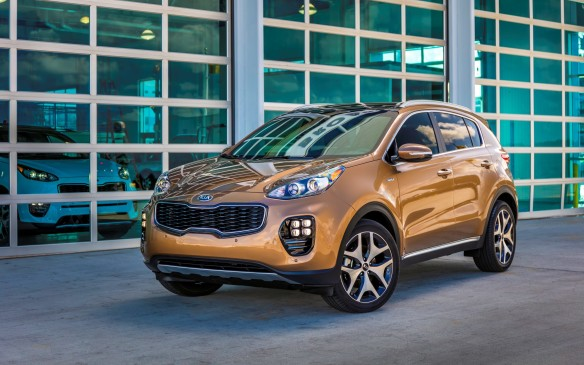 <p>The 2017 Kia Sportage comes into AJAC's Car of the Year with a new shape that's more bold and refined. Thanks to a base 181-hp 2.4-litre four-cylinder its driving feel has improved, along with its steering feel. You can upgrade to the turbocharged 2.0-litre unit that gets 237 hp that's only available at the top trim level.</p>