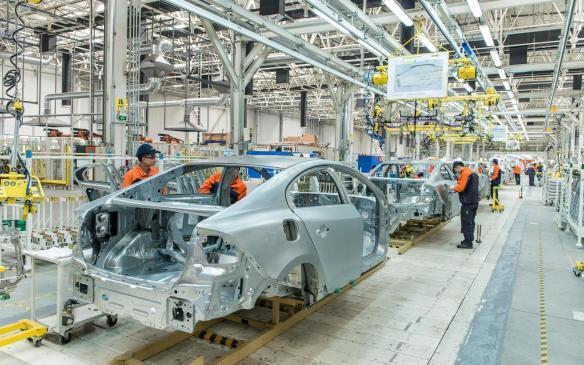 <p>Volvo S80 production - Chengdu</p>