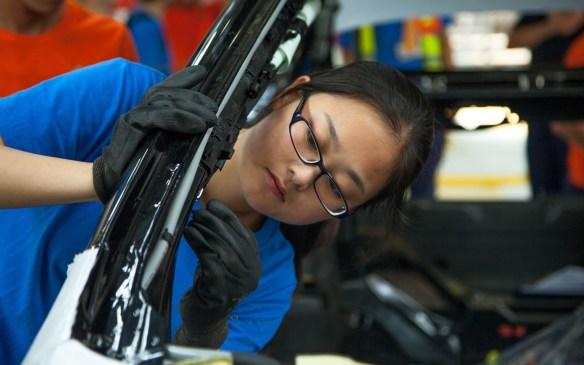 <p>Volvo S80 production - Chengdu</p>