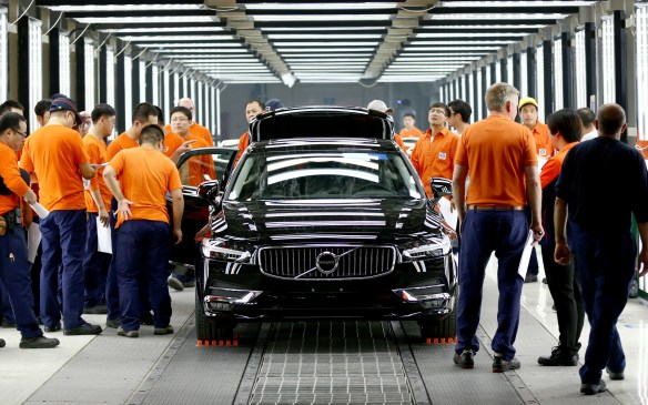 Volvo S90 pre-production - Daqing