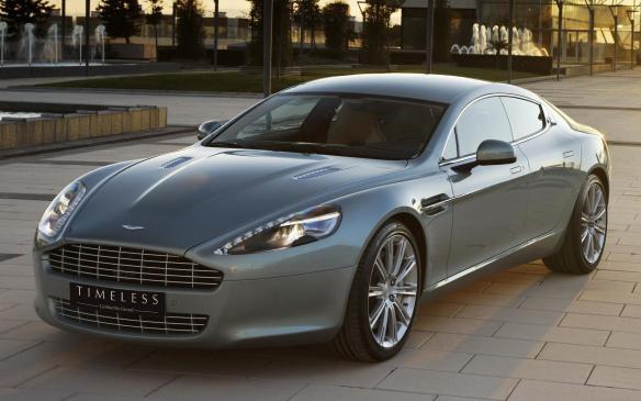 <p>Aston Martin Timeless sedan</p>