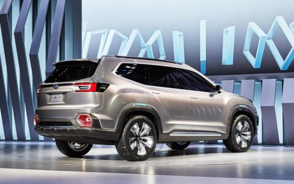 <p>The Subaru Viziv-7 Concept is a forward-looking vision of the Japanese brands design language. It comes in the form of a three-row, seven-seat SUV that, in production form, will slot in above the Forester and fill the void left behind by the Tribeca.</p>