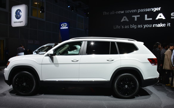 <p>It may well be the most important new vehicle at the show, however, for the future of the Volkswagen brand in North America just might depend on it success. The big – make that very big – seven-seat Atlas will be made in America at VW's plant in Chattanooga, Tennessee.</p>