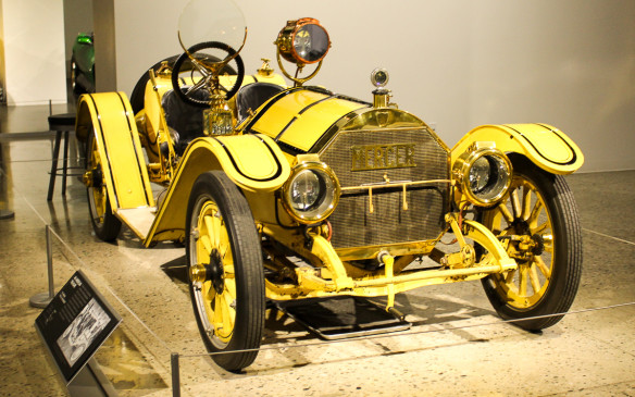 <p>Of course there are race cars. Variants of this 1913 Mercer Type 35-J Raceabout, often called America's first sports car, raced in the Indianapolis 500 in its early days.</p>