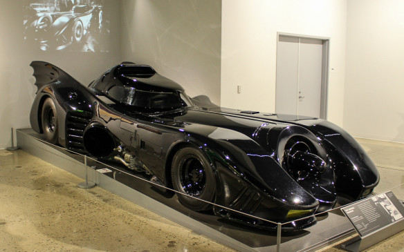 <p>And there has to be a Batmobile – this one the monstrous 1989 version from the movie 'Batman'.</p>