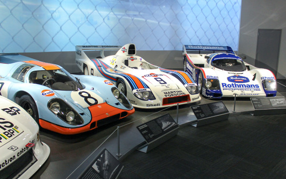 <p>These classic Porsche race cars earned their laurels in races from the 24 Hours of Le Mans to North America's IMSA series.</p>