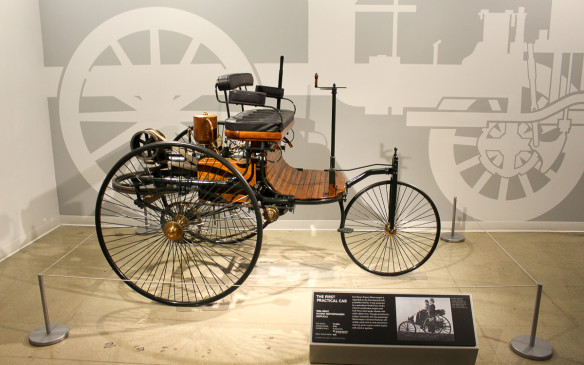 <p>Part of the Petersen's mission is to help educate visitors on the history of the automobile and its place in society. Where better to start than with a precise replica of Karl Benz's 1896 Patentwagen – widely recognized as the first automobile.</p>