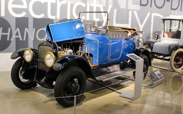 <p>One of the first hybrids ever, the 1914 Galt Gasoline-Electric was built in Galt, Ontario. It's on loan from the Canadian Automotive Museum in Oshawa, Ontario.</p>