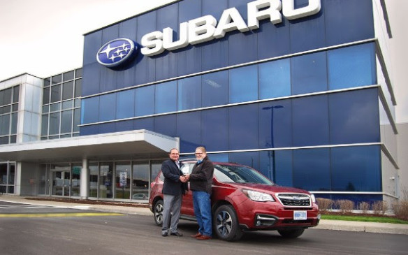 <p>The Subaru Forester took the Best New Small Utility title with 678 points, scoring highest in Value, Off-Road Capability and Occupant Environnent.</p> <p>The Ford Escape (670) came second and the Kia Sportage (664) third.</p>