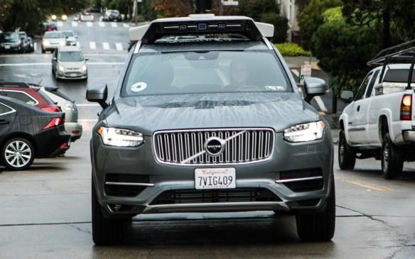 <p>Uber Volvo driverless XC90</p>