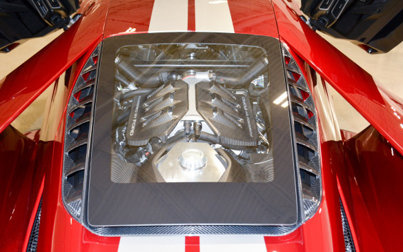 <p>Ford GT Start of Production - Multimatic </p>