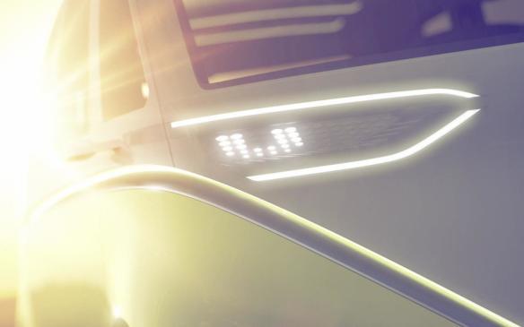 <p>Volkswagen I.D. Concept headlight</p>