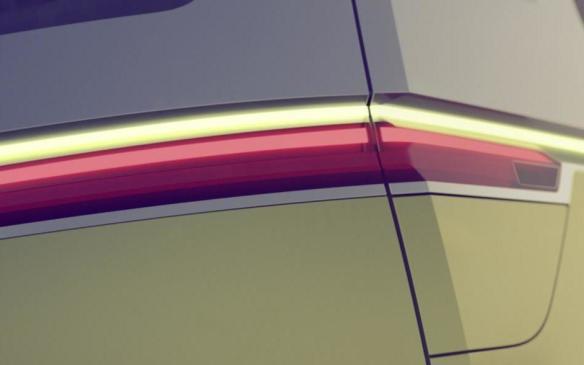 <p>Volkswagen I.D. Concept taillight</p>