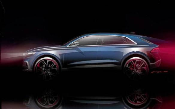 <p>Audi Q8 concept</p>