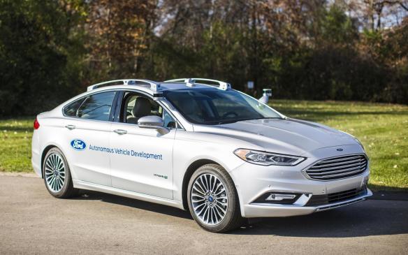 <p>Ford Fusion Hybrid autonomous development vehicle</p>