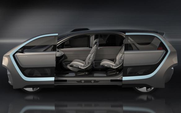 <p>Chrysler Portal side doors</p>