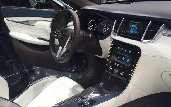 <p>Infiniti QX50 Concept interior</p>