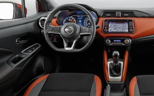 <p>2018 Nissan Micra interior</p>