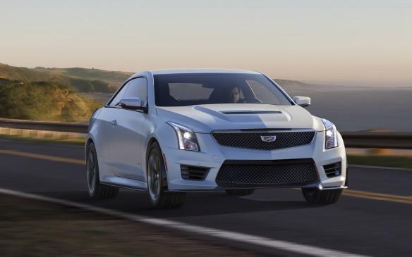<p>2017 Cadillac ATS-V Coupe</p>