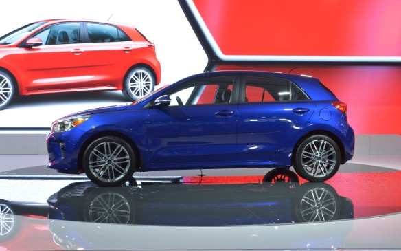 <p>2018 Kia Rio 5 makes North American Debut at Montreal Auto Show</p>