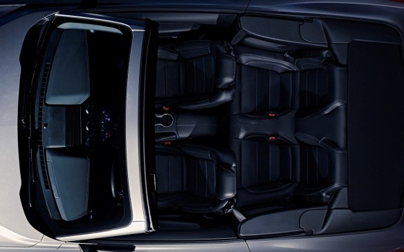 <p>2018 Ford Mustang GT Convertible interior</p>
