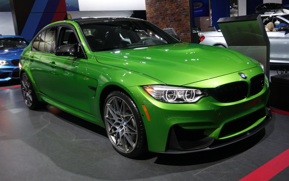 <p>This custom, lime green dress isnot quite the stealthiest for BMW's M3, the quintessential sports sedan, powered by a turbocharged, 3.0-litre, inline six-cylinder engine that develops a round 425 horsepower.</p>