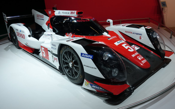 <p>Powered by a hybrid system that combines a twin-turbocharged, 2.4-lite V-6 thermal engine and two electric motors, for a reported total output of 986 horsepower, Toyota's TS050 LMP1 prototype came within a lap of winning the legendary Le Mans 24-hours endurance classic. It was stopped by a minor system failure a few minutes before the finish after leading for several hours.</p>