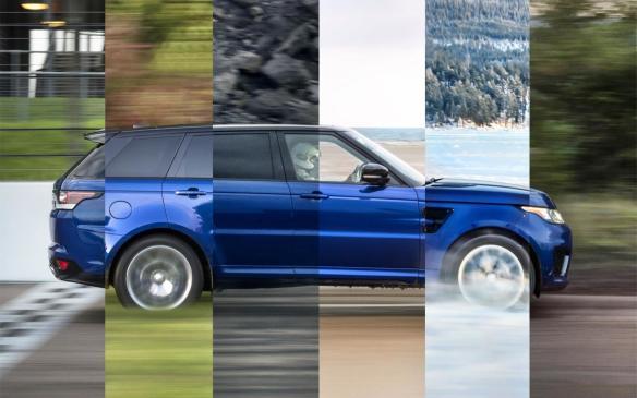 <p>Composite of Range Rover Sport SVR 0-100km/h runs</p>